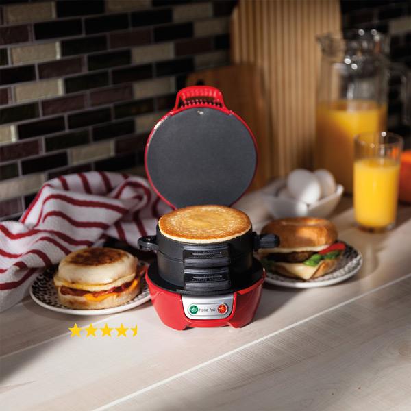 Spara tid på morgonen och gör samtidigt en komplett smörgås i ett kick!