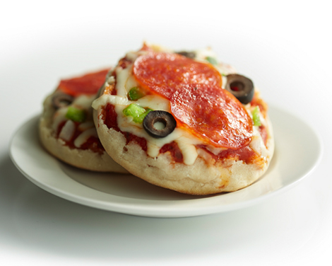 Minipizza i Hamilton Beach Breakfast Sandwich Maker