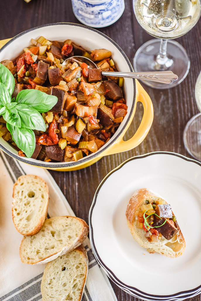 Slow Cooker Caponata