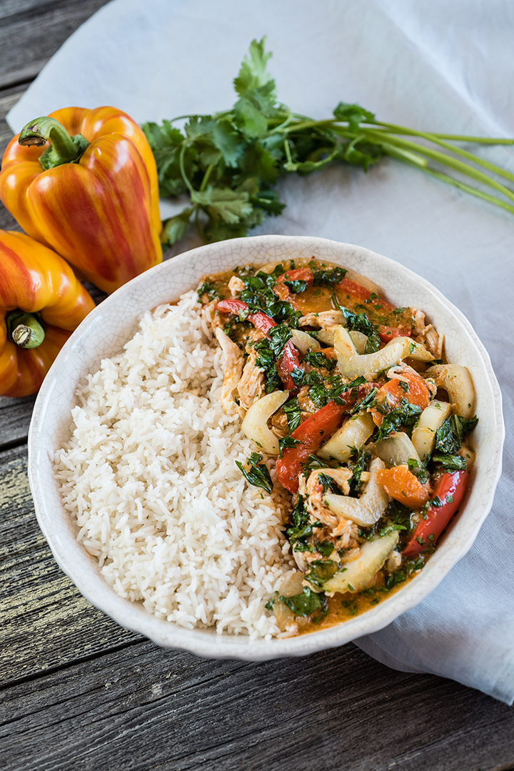 Slow Cooker Kycklingcurry