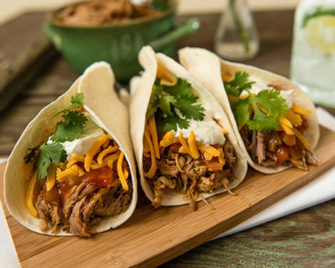 Slow Cooker Tacos de Carnitas