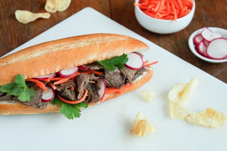 Asiatisk rostbiff i Slow Cooker