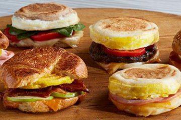 Lyxiga smörgåsar Breakfast Sandwich Maker