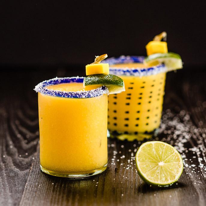 Exotiskt inslag av mango