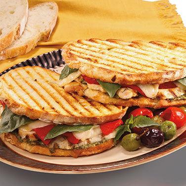 panini med kyckling och pesto | everyday good thinking