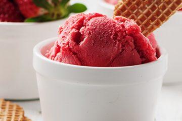 strawberry-sorbet