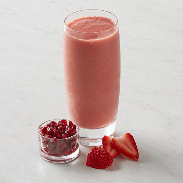 smoothie med granatäpple