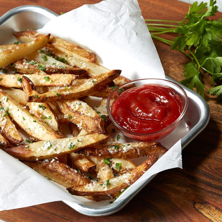 Air Fryer Parmesan Pommes Frites