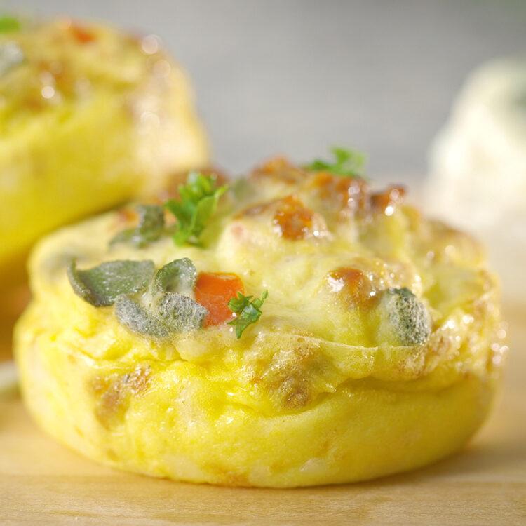 Egg Bites Vegetariska